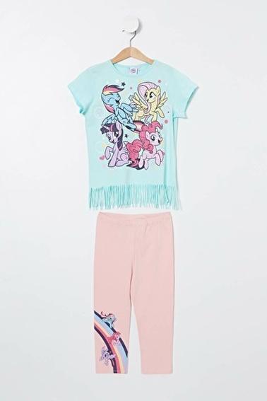 DeFacto Pijama Takım Turkuaz